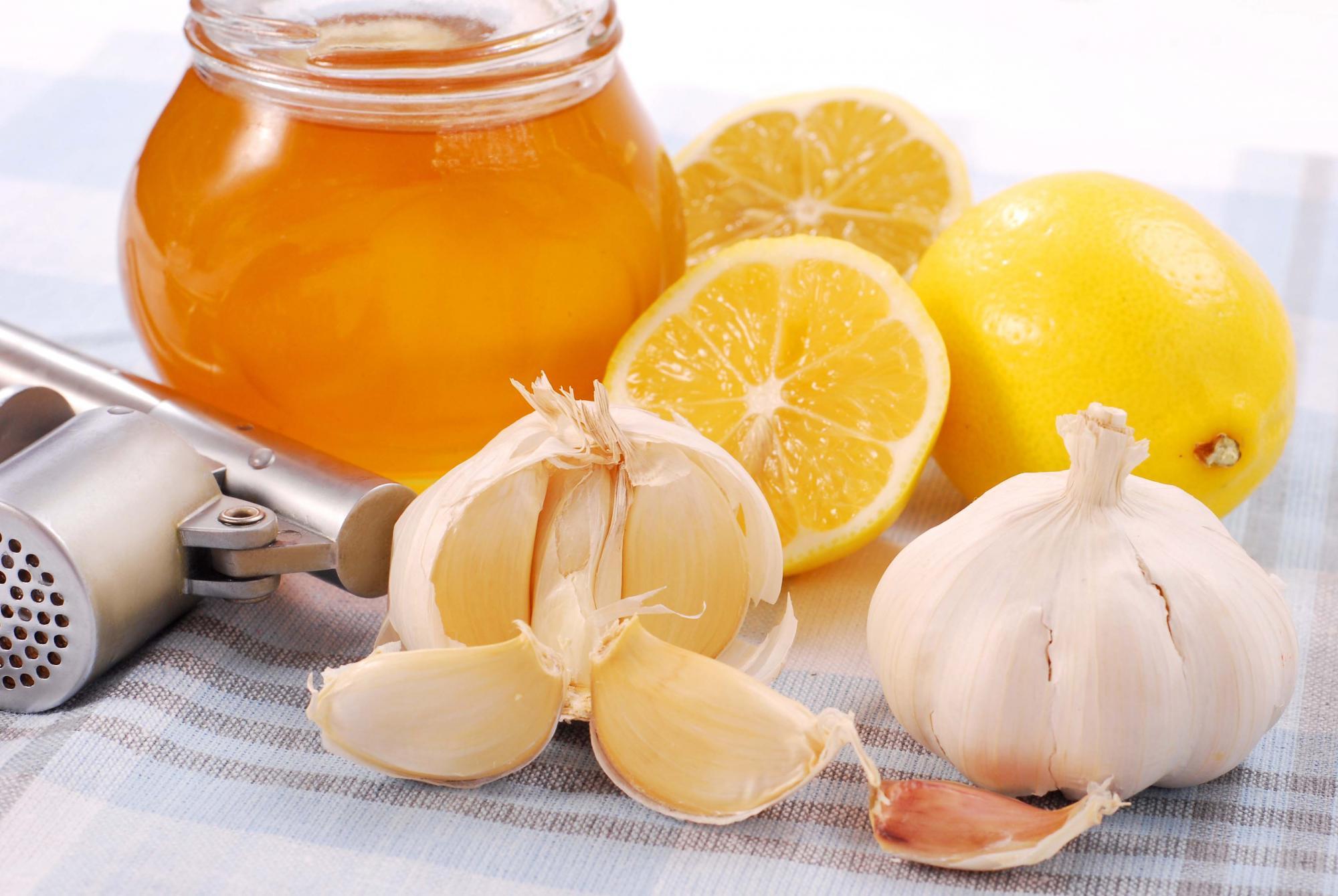 чеснок и мед от глистов